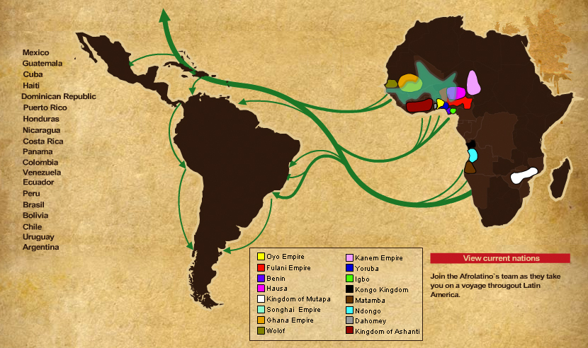 slavery in latin america I'm a fifth-year triple major at colorado state university this tumblr is intended to inform the general public about slavery and slave conditions in colonial latin america.