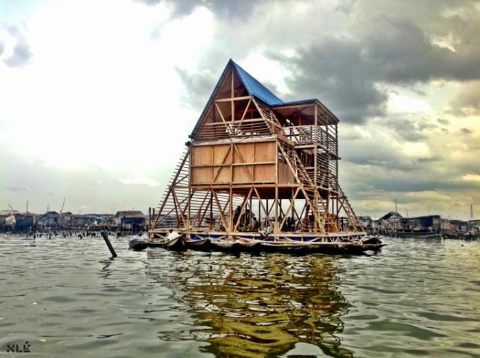 Kunle Adeyemi's Makoko floating school
