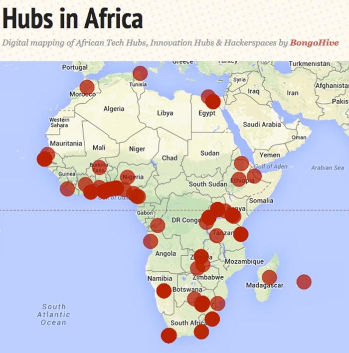 AfricaHubs cowdmap