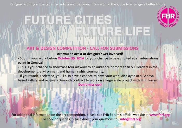 Future Cities Future Life flyer