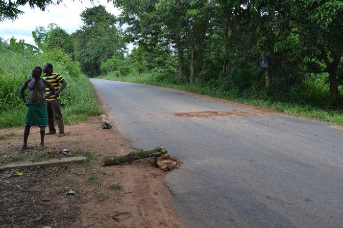 pothole ghana